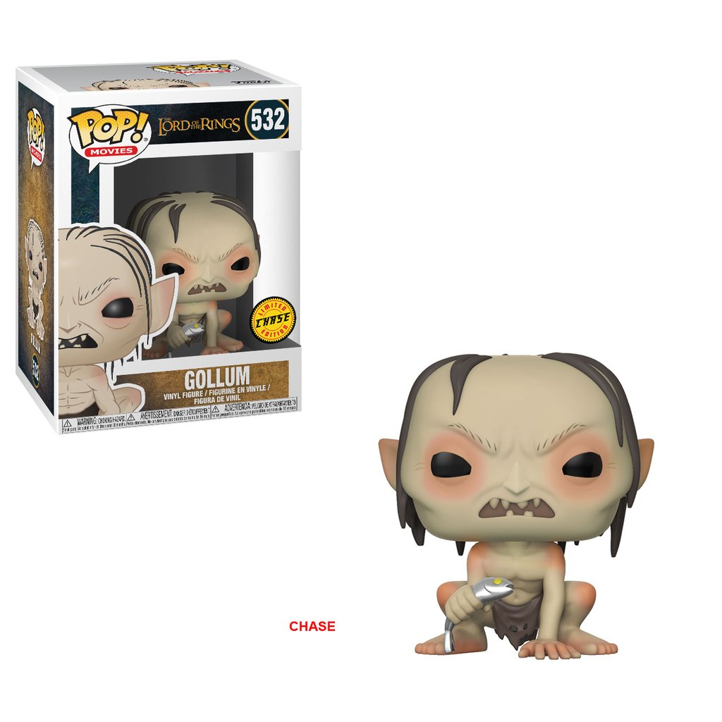 The Lord of the Rings Gollum Pop! Vinyl Figure Chase Edition
