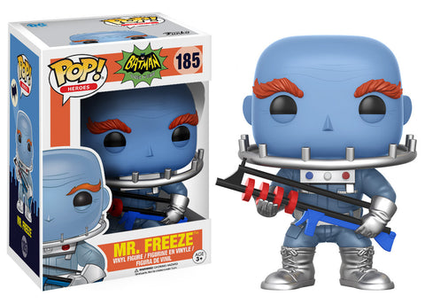 Batman 1966 TV Series Mr. Freeze Pop! Vinyl Figure [Pre-order]