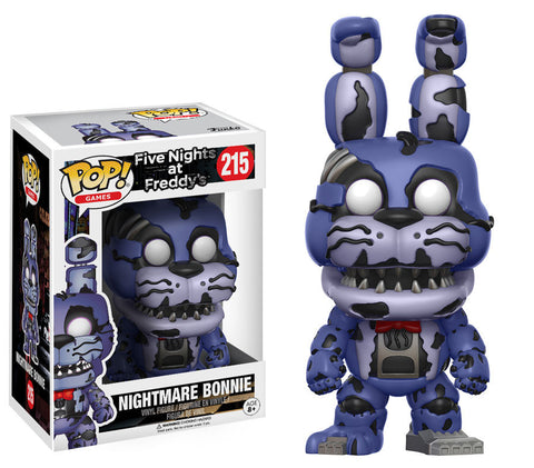 Five Nights at Freddy's Nightmare Bonnie Pop! Vinyl Figure