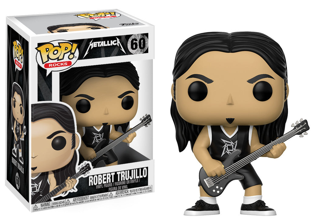 Metallica Robert Trujillo Pop! Vinyl Figure #60 [Pre-order]