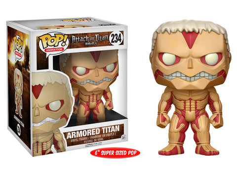 Attack on Titan Armored Titan 6-Inch Pop! Vinyl Figure [Pre-order]