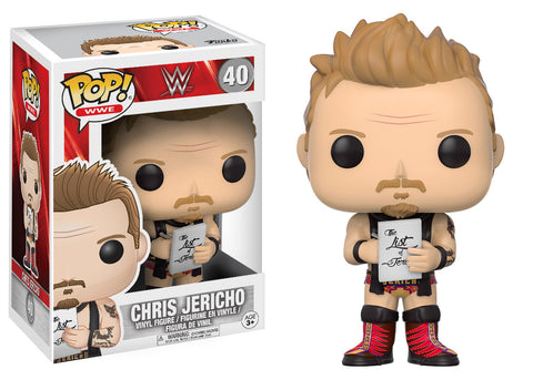 WWE Chris Jericho Pop! Vinyl Figure [Pre-order]