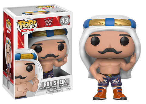 WWE Iron Sheik Old School Pop! Vinyl Figure [Pre-order]
