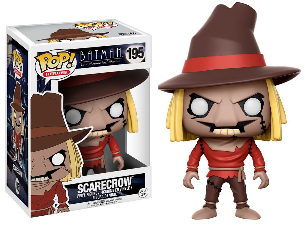 Batman: The Animated Series Scarecrow Pop! Vinyl Figure #195 [Pre-order]