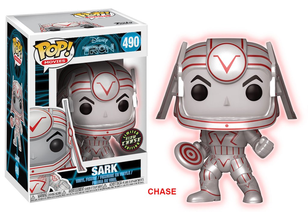 Tron Sark Pop! Vinyl Figure Chase Edition [Pre-order]
