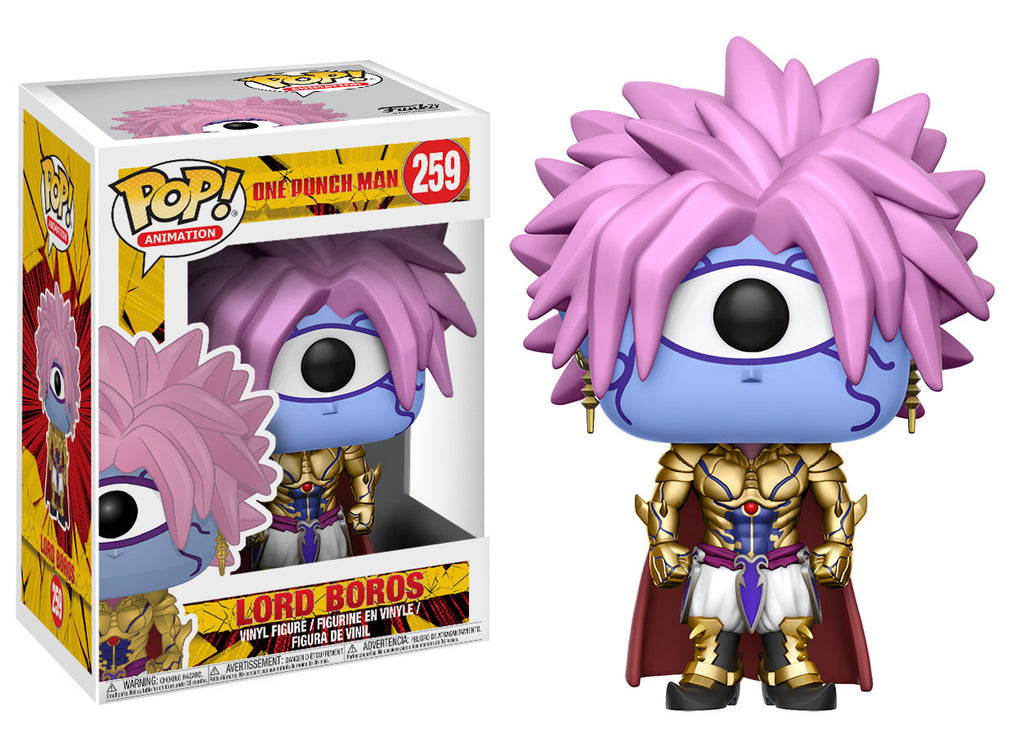 One Punch Man Lord Boros Pop! Vinyl Figure [Pre-order]
