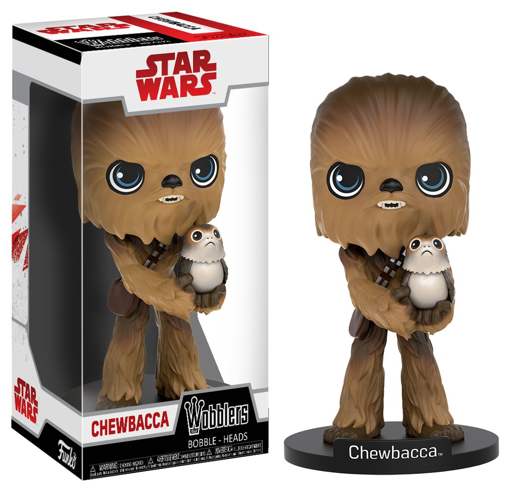 Star Wars: The Last Jedi Chewbacca Wobbler Bobble Head
