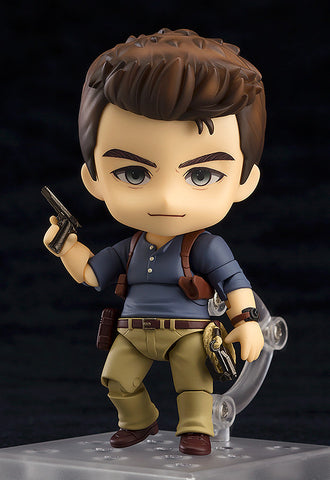 Uncharted 4 Nathan Drake Adventure Edition Nendoroid Action Figure