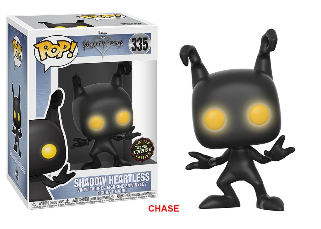 Kingdom Hearts Heartless Pop! Vinyl Chase Edition Figure #335