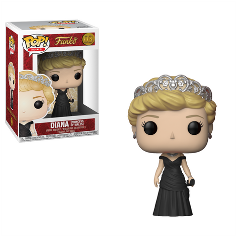 Royals Diana Princess of Wales POP! Vinyl Figure #03