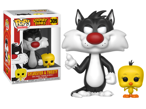 Looney Tunes Sylvester and Tweety Pop! Vinyl Figure #309 [Pre-order]