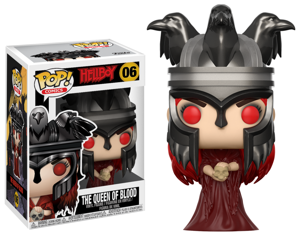 Hellboy Comic Nimue The Queen of Blood Pop Vinyl Figure #06