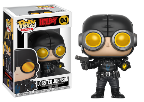 Hellboy Comic Lobster Johnson Pop Vinyl Figure #04