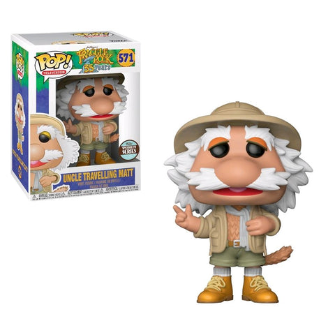 Fraggle Rock Uncle Travelling Matt Funko POP! Vinyl Figure - Specialty Series