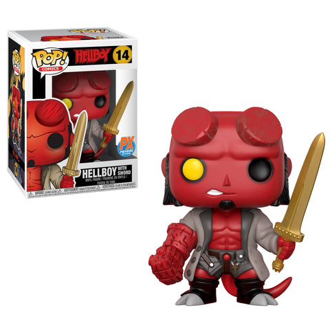 Hellboy with Excalibur Pop! Vinyl Figure - Previews Exclusive