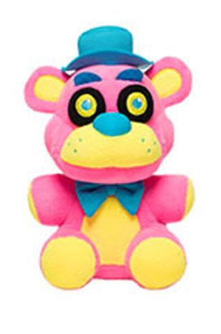 Five Nights at Freddy's Blacklight Freddy Pink 6 Inch Plush