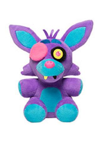 Five Nights at Freddy's Blacklight Foxy Purple 6 Inch Plush