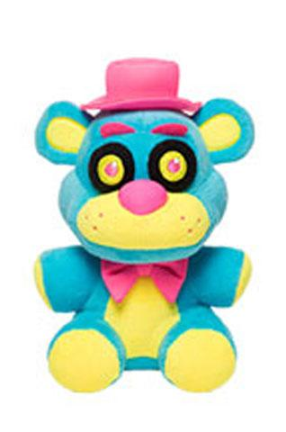 Five Nights at Freddy's Blacklight Freddy Blue 6 Inch Plush