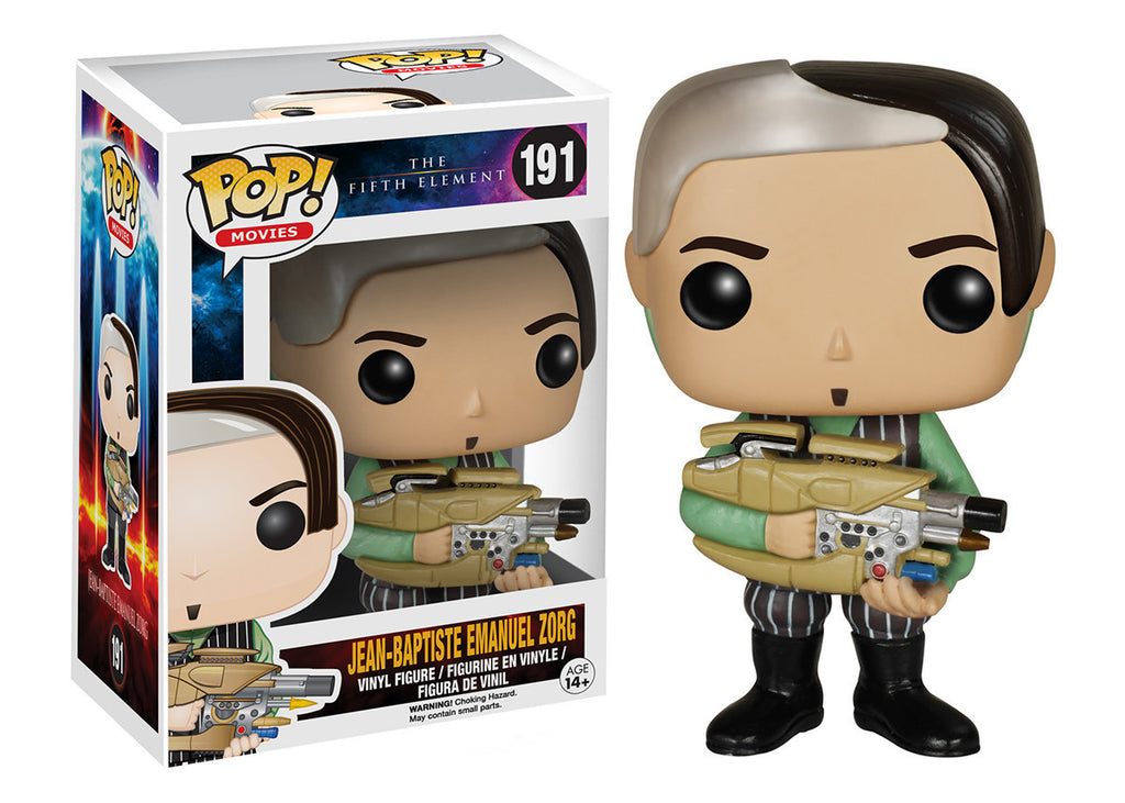 Fifth Element Zorg Pop! Vinyl Figure