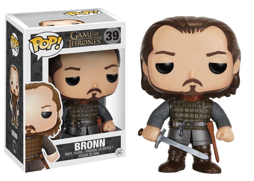 Game of Thrones Bronn Pop! Vinyl Figure - VAULTED