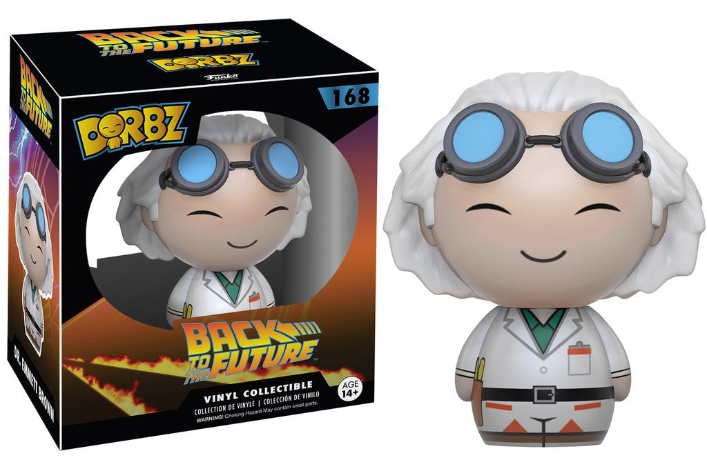 Back to the Future Dr. Emmett Brown Dorbz Vinyl Figure