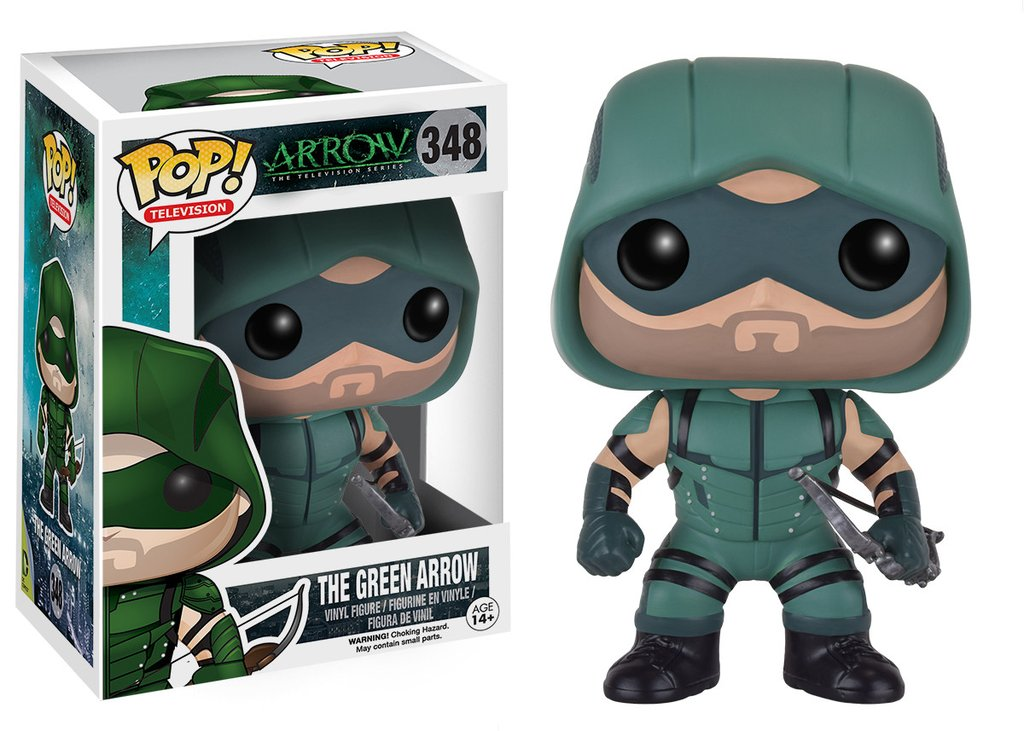 Arrow Green Arrow Funko Pop! Vinyl Figure #348 [DAMAGED BOX]