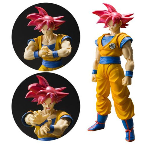 Dragon Ball Super Saiyan God Son Goku SH Figuarts Action Figure [Pre-order]