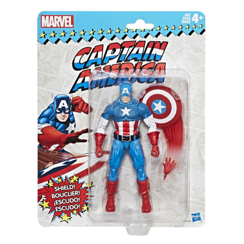 Marvel Legends Captain America Vintage 6 Inch Figure