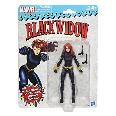 Marvel Legends Black Widow Vintage 6 Inch Figure