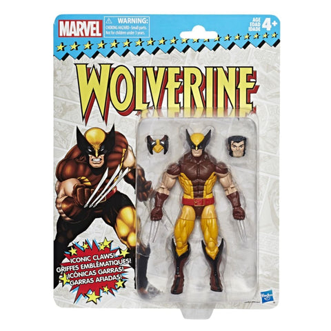 Marvel Legends Wolverine Vintage 6 Inch Figure