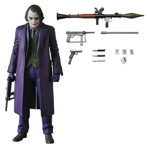Dark Knight Rises Joker Version 2.0 MAFEX Action Figure [Pre-order]