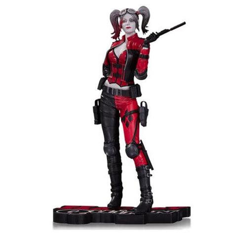 Injustice 2 Harley Quinn Red, White, and Black 1:10 Scale Statue