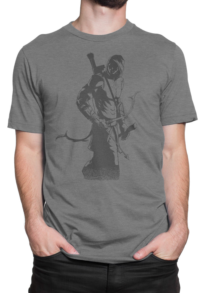 Reslin the Archer Short Sleeve T-shirt - Dark Gray