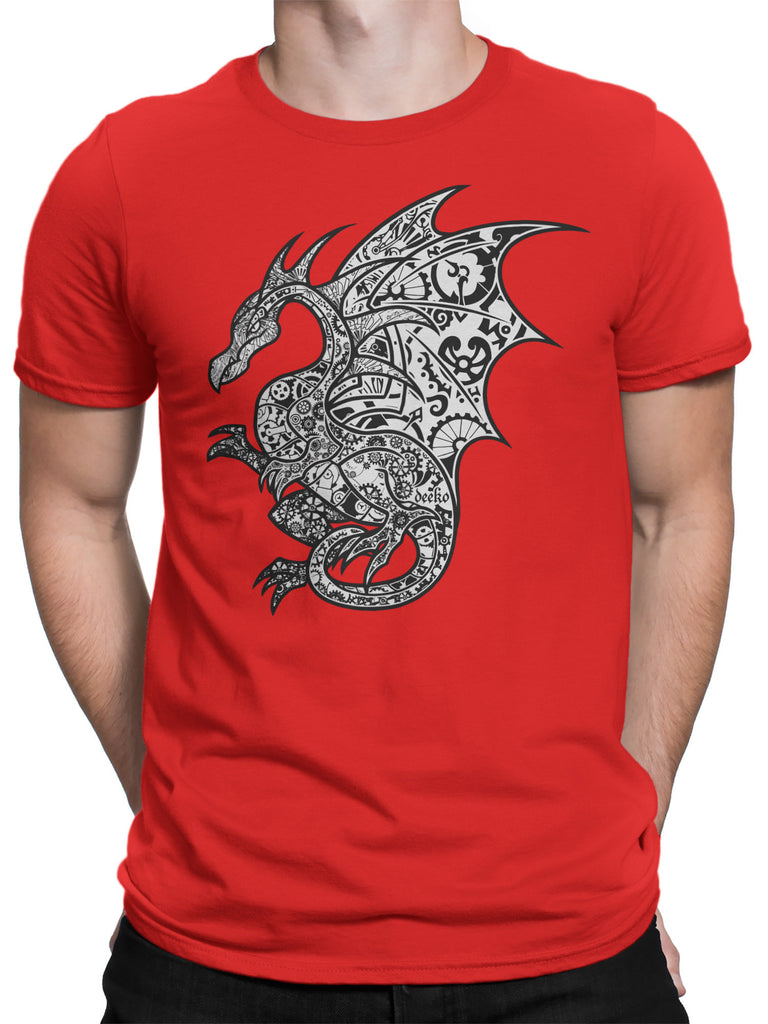 Volandis the Dragon T-Shirt - Red Series