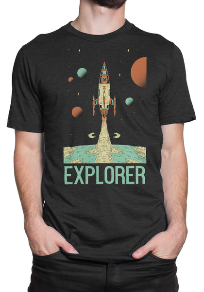 Explorer Rocket Short Sleeve T-shirt