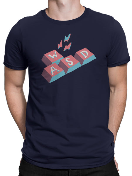 WASD Unisex Short Sleeve T-shirt