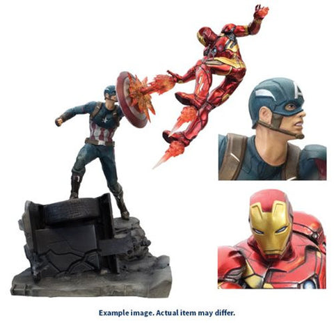 Captain America: Civil War Captain America v. Iron Man Premium Motion Statue [Pre-order]