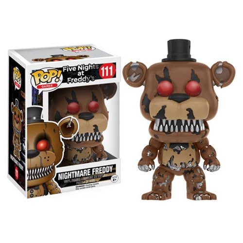 Five Nights at Freddy's Nightmare Freddy Pop! Vinyl Figure [DAMAGED BOX]