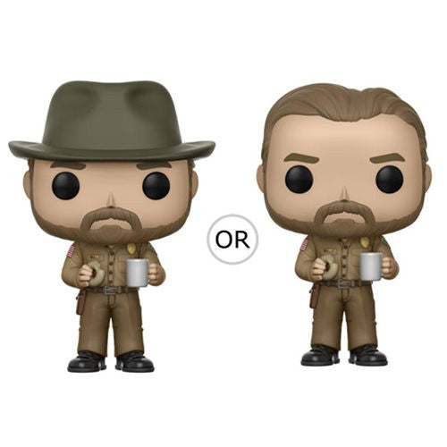 Stranger Things Hopper with Donut Pop! Vinyl Figure #512