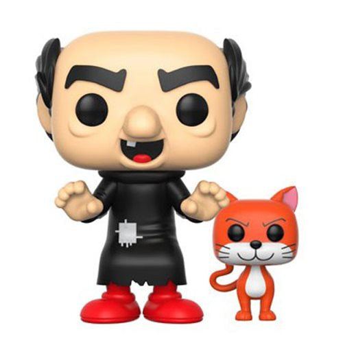 Smurfs Gargamel with Azrael Pop! Vinyl Figure #273