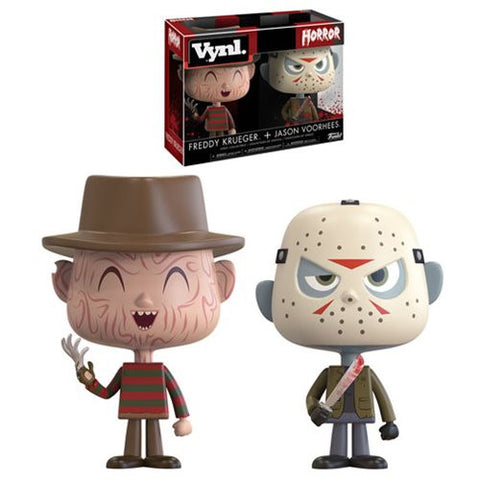 Horror Freddy and Jason VYNL Figure 2-Pack