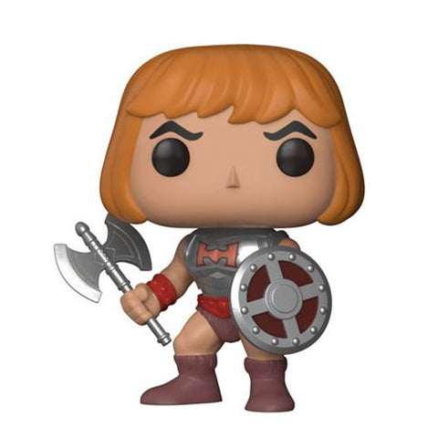 Masters of the Universe Battle Armor He-Man with Damaged Armor Pop! Vinyl Figure #562 [Pre-order]