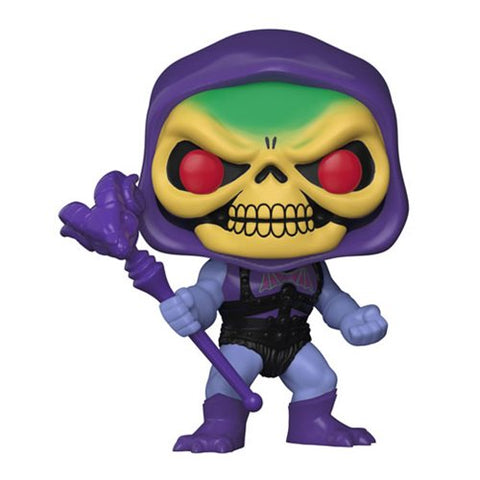 Masters of the Universe Battle Armor Skeletor with Damaged Armor Pop! Vinyl Figure #563 [Pre-order]