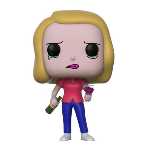 Rick and Morty Beth with Wine Glass Pop! Vinyl Figure #301 [Pre-order]