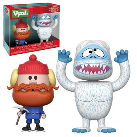 Rudolph the Red-Nose Reindeer Bumble and Yukon Cornelius VYNL Figure 2-Pack