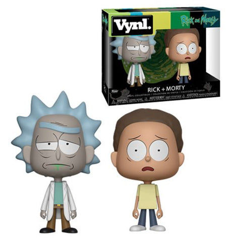 Rick and Morty VYNL Figure 2-Pack