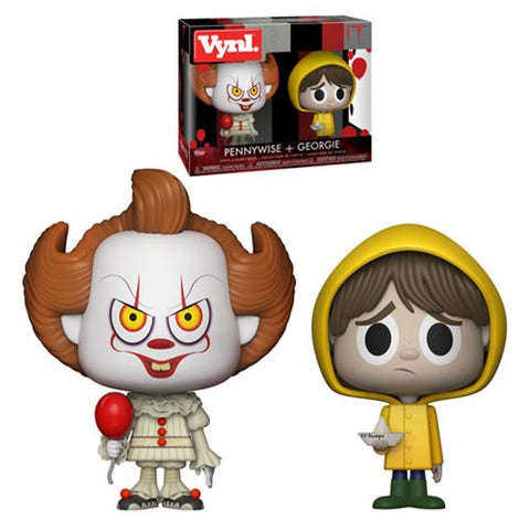 It Pennywise and Georgie VYNL Figure 2-Pack [Pre-order]