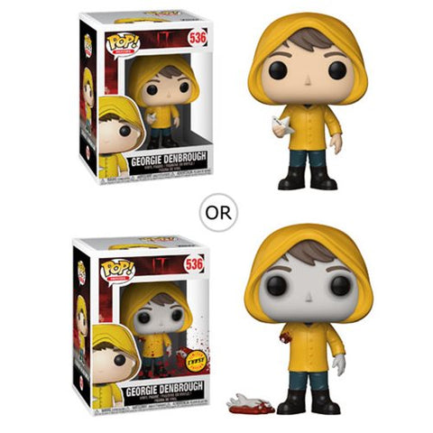 It Georgie with Boat Pop! Vinyl Figure [Pre-order]