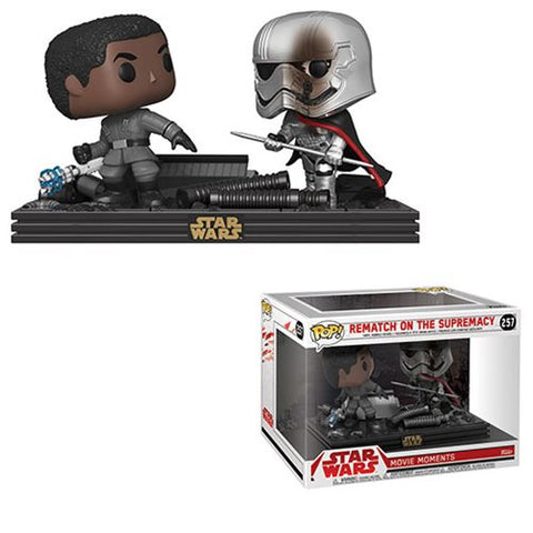 Star Wars: The Last Jedi Finn and Phasma Pop! Vinyl Figure Movie Moments [Pre-order]