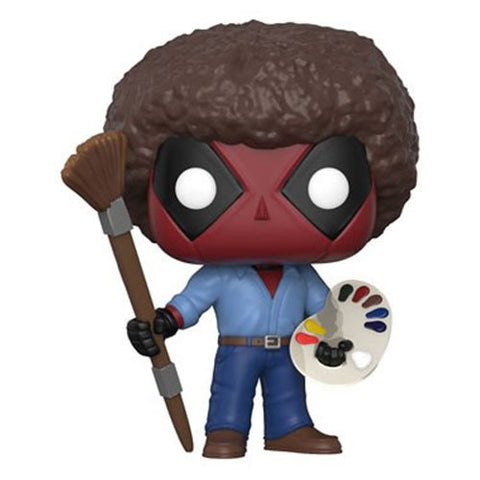 Deadpool Playtime Bob Ross Pop! Vinyl Figure [Pre-order]